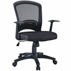 Modway Pulse Mesh Office Chair in Black MY-EEI-758-BLK