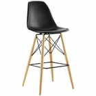 Modway Pyramid Bar Stool in Black MY-EEI-1701-BLK