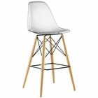 Modway Pyramid Bar Stool in Clear MY-EEI-1701-CLR