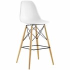 Modway Pyramid Bar Stool in White MY-EEI-1701-WHI