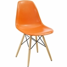 Modway Pyramid Dining Side Chair in Orange MY-EEI-180-ORA