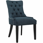Modway Regent Upholstered Fabric Dining Chair in Azure MY-EEI-2223-AZU