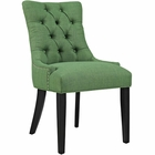 Modway Regent Upholstered Fabric Dining Chair in Kelly Green MY-EEI-2223-GRN