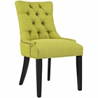 Modway Regent Upholstered Fabric Dining Chair in Wheatgrass MY-EEI-2223-WHE