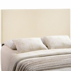 Modway Region King Upholstered Fabric Headboard in Ivory MY-MOD-5212-IVO