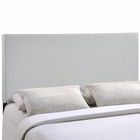 Modway Region King Upholstered Fabric Headboard in Sky Gray MY-MOD-5212-GRY