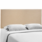 Modway Region Queen Upholstered Fabric Headboard in Cafe MY-MOD-5211-CAF