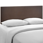 Modway Region Queen Upholstered Fabric Headboard in Dark Brown MY-MOD-5211-DBR