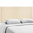 Modway Region Queen Upholstered Fabric Headboard in Ivory MY-MOD-5211-IVO