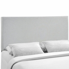 Modway Region Queen Upholstered Fabric Headboard in Sky Gray MY-MOD-5211-GRY