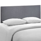 Modway Region Queen Upholstered Fabric Headboard in Smoke MY-MOD-5211-SMK