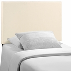 Modway Region Twin Upholstered Fabric Headboard in Ivory MY-MOD-5214-IVO