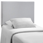 Modway Region Twin Upholstered Fabric Headboard in Sky Gray MY-MOD-5214-GRY