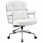 Modway Remix Faux Leather Office Chair in White MY-EEI-276-WHI