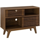 Modway Render Display Stand in Walnut MY-EEI-2542-WAL