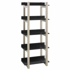 Modway Reprieve Bookcase in Natural Black MY-EEI-2786-NAT-BLK