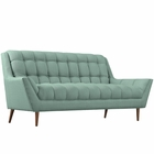 Modway Response Upholstered Fabric Loveseat in Laguna MY-EEI-1787-LAG