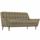 Modway Response Upholstered Fabric Loveseat in Oatmeal MY-EEI-1787-OAT