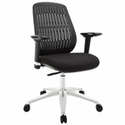 Modway Reveal Premium Office Chair in Black MY-EEI-1189-BLK
