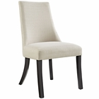 Modway Reverie Dining Upholstered Fabric Side Chair in Beige MY-EEI-1038-BEI