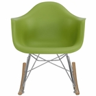 Modway Rocker Kids Chair in Green MY-EEI-2300-GRN