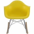 Modway Rocker Kids Chair in Yellow MY-EEI-2300-YLW