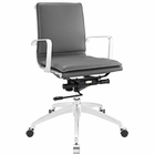 Modway Sage Mid Back Office Chair in Gray MY-EEI-1530-GRY