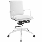 Modway Sage Mid Back Office Chair in White MY-EEI-1530-WHI