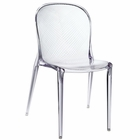 Modway Scape Dining Transparent Side Chair in Clear MY-EEI-789-CLR