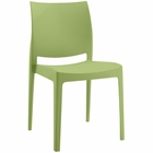 Modway Scoot Dining Chair in Green MY-EEI-1704-GRN