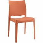 Modway Scoot Dining Chair in Orange MY-EEI-1704-ORA