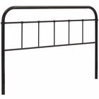 Modway Serena Queen Steel Headboard in Brown MY-MOD-5536-BRN