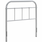Modway Serena Twin Steel Headboard in Gray MY-MOD-5534-GRY