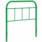 Modway Serena Twin Steel Headboard in Green MY-MOD-5534-GRN