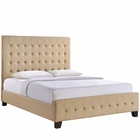 Modway Skye Queen Bed in Cafe MY-MOD-5229-CAF-SET