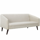 Modway Slide Upholstered Fabric Sofa in Beige MY-EEI-2133-BEI
