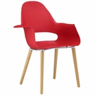 Modway Soar Dining Armchair in Red MY-EEI-1464-RED