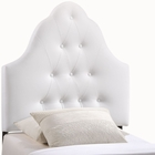 Modway Sovereign Twin Tufted Faux Leather Headboard in White MY-MOD-5169-WHI