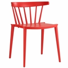 Modway Spindle Dining Side Chair in Red MY-EEI-1494-RED