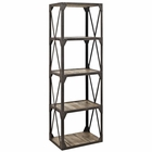 Modway Stave Bookshelf in Brown MY-EEI-1202-BRN