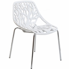 Modway Stencil Dining Side Chair in White MY-EEI-651-WHI