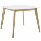 "Modway Stratum 40"" Dining Table in White MY-EEI-2669-WHI"