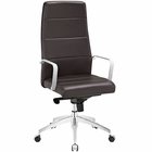 Modway Stride Highback Faux Leather Office Chair in Brown MY-EEI-2120-BRN