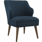 Modway Swell Upholstered Fabric Armchair in Azure MY-EEI-2148-AZU