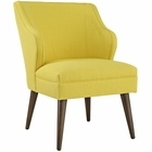 Modway Swell Upholstered Fabric Armchair in Sunny MY-EEI-2148-SUN