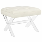 Modway Swift Acrylic Bench in Ivory MY-EEI-2323-IVO