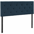 Modway Terisa Queen Upholstered Fabric Headboard in Azure MY-MOD-5370-AZU