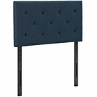 Modway Terisa Twin Upholstered Fabric Headboard in Azure MY-MOD-5366-AZU