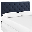 Modway Theodore Full Upholstered Fabric Headboard in Navy MY-MOD-5313-NAV