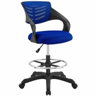 Modway Thrive Mesh Drafting Chair in Blue MY-EEI-3040-BLU